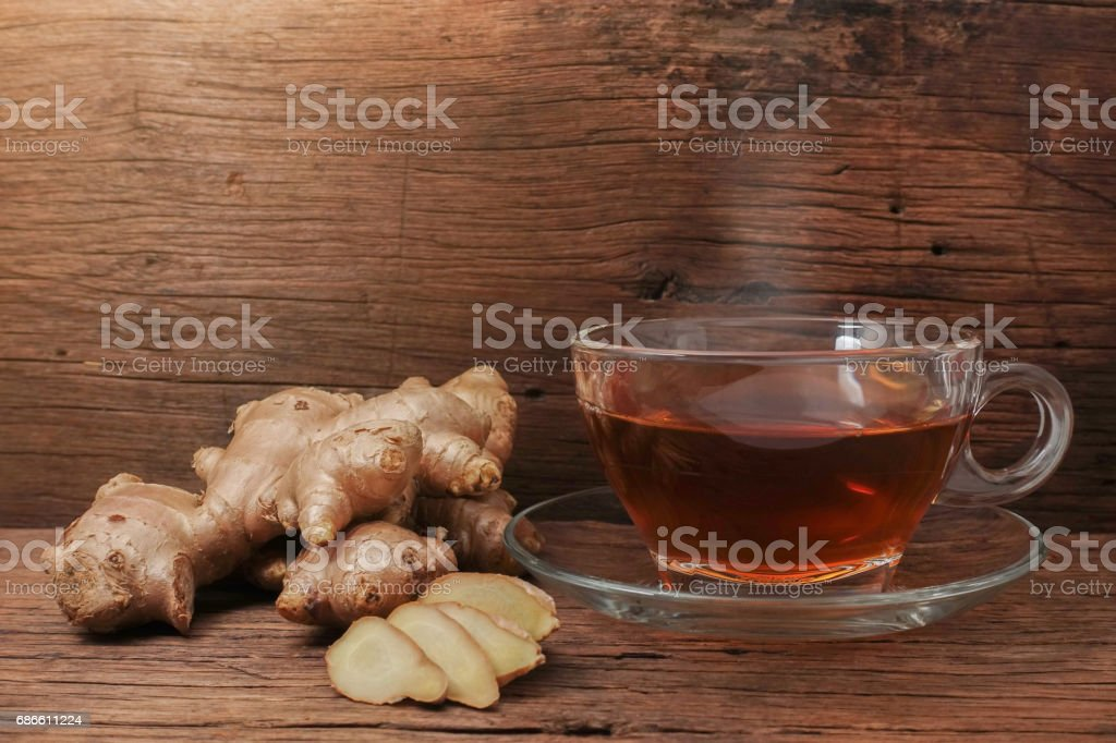 Hot ginger water royalty-free stock photo