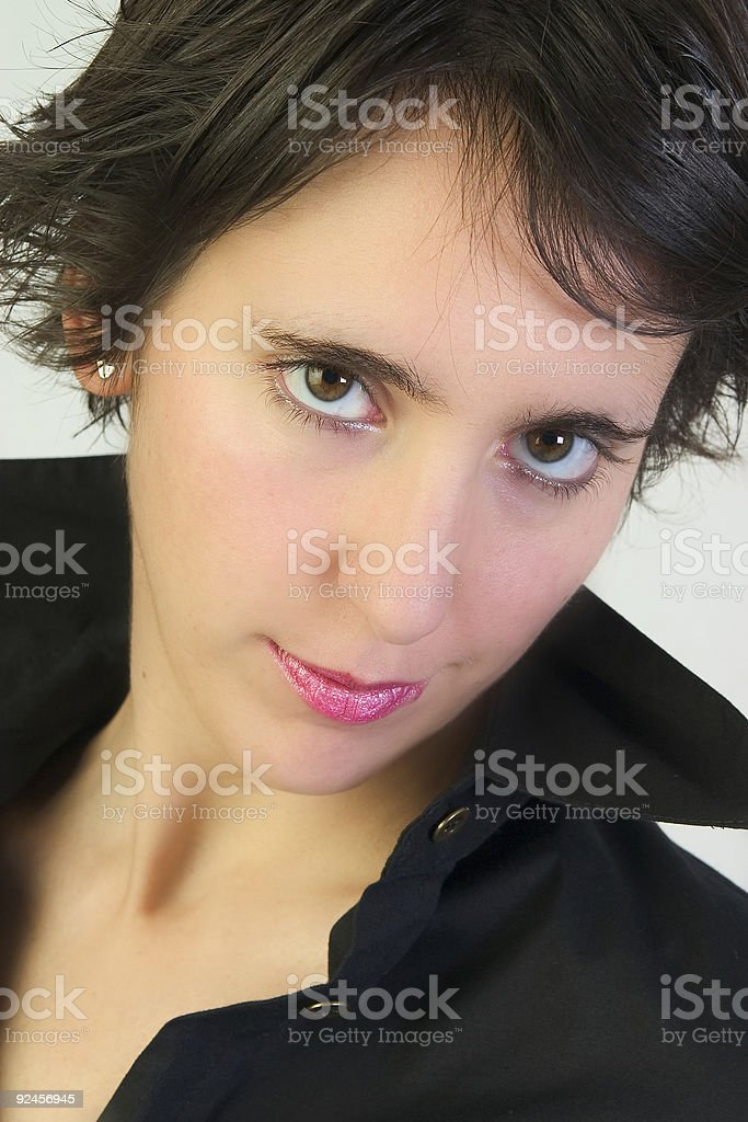 Hot girl royalty-free stock photo