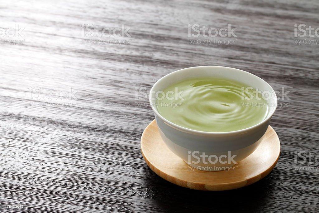 Chá verde quente - foto de acervo