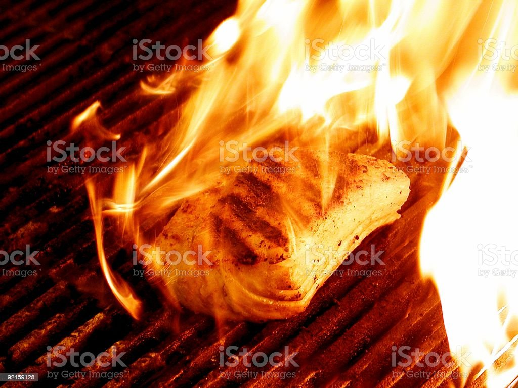 Hot Grill royalty-free stock photo