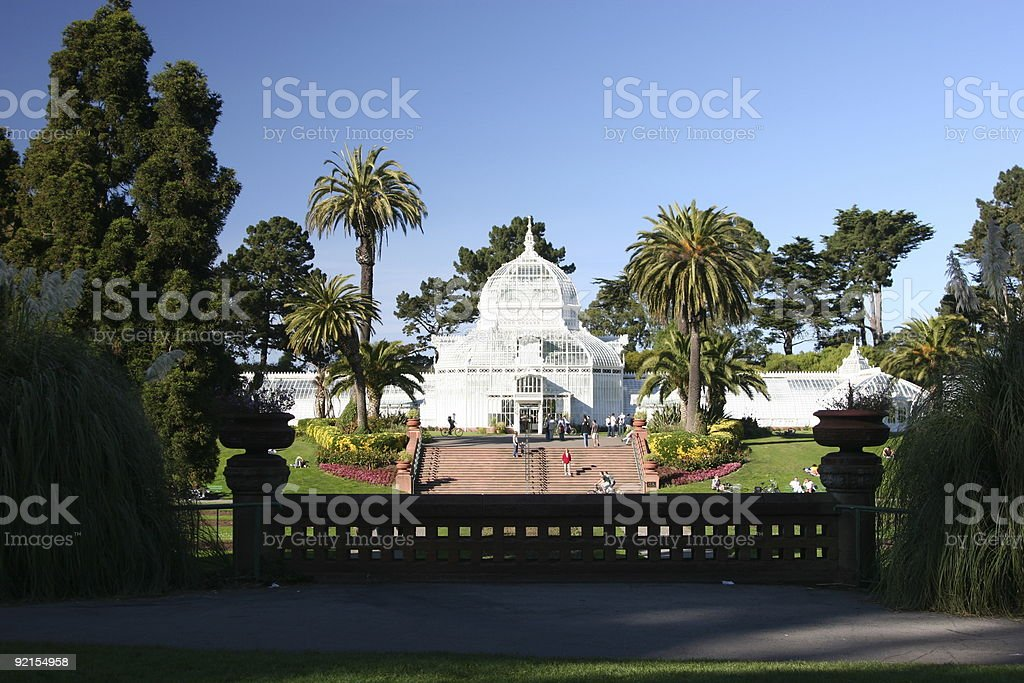 Hot House - Golden Gate Park royalty-free stock photo