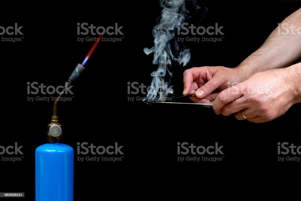 Hot Knives - Royalty-free Addiction Stock Photo