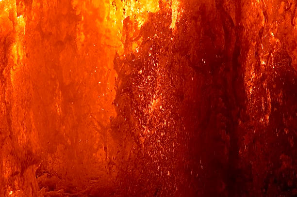 Hot lava splash Digitally enhanced abstract hot lava background lava stock pictures, royalty-free photos & images