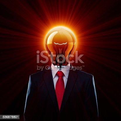 istock Hot Light Bulb Man 536878801