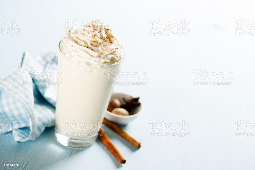 Hot milk drink royalty-free stock photo