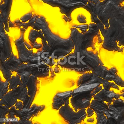 istock hot molten lava 92120031