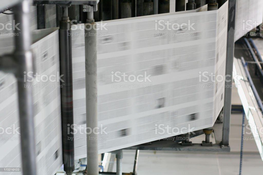 hot news (newspaper) royalty-free stock photo
