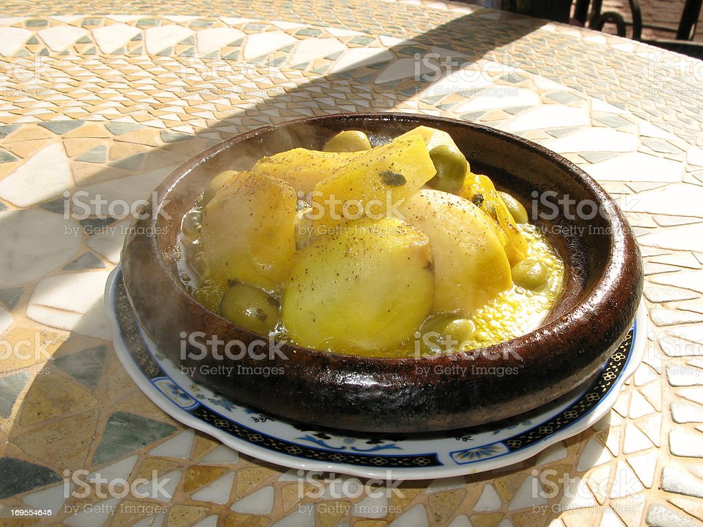 Hot patatoes in Marokko – Foto
