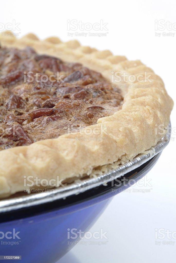 hot pecan pie royalty-free stock photo