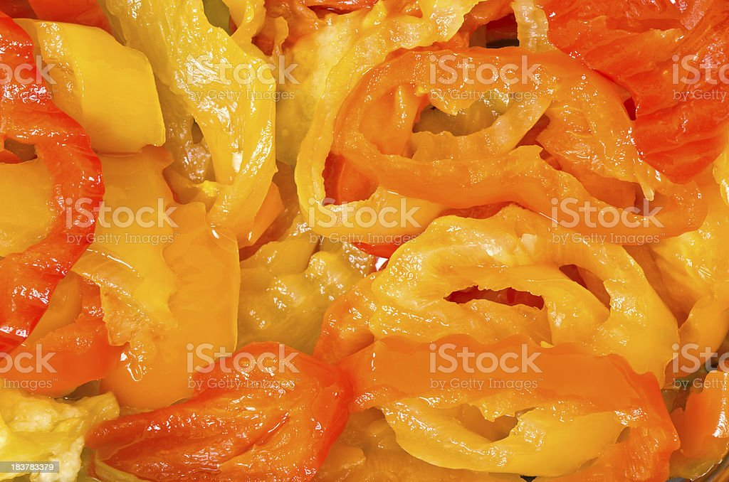 Hot Pepper Background stock photo