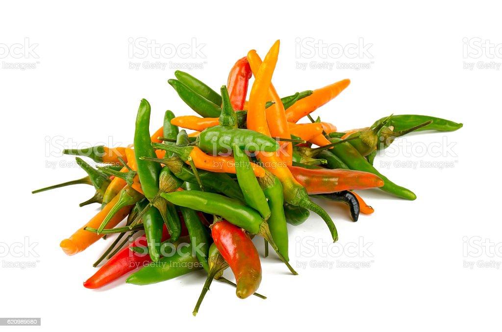 Pimenta quente  foto royalty-free