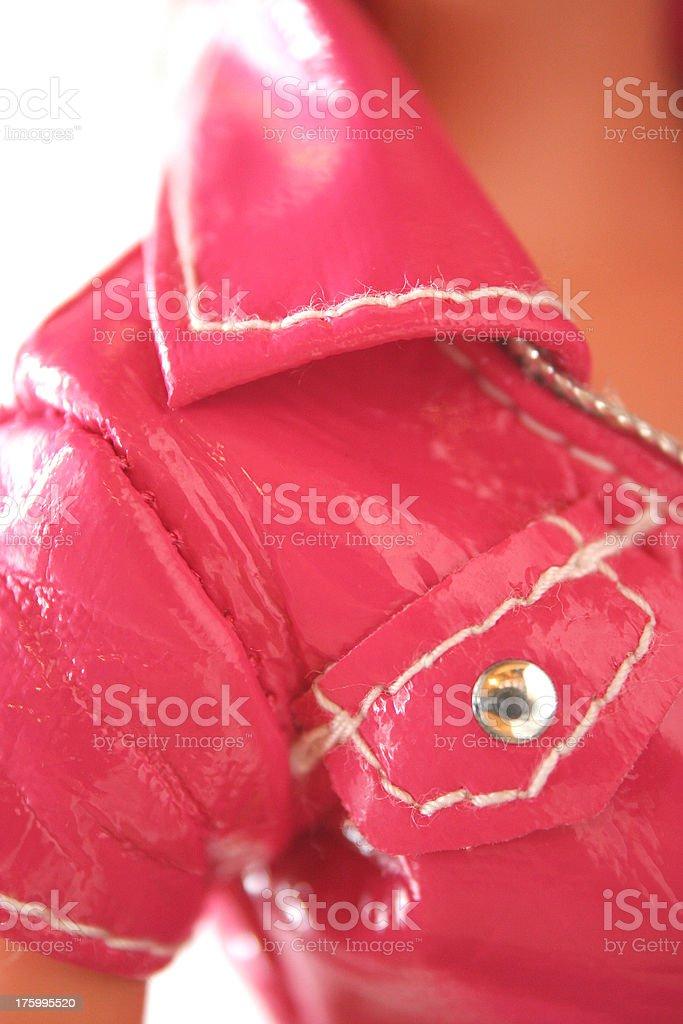 hot pink collar royalty-free stock photo