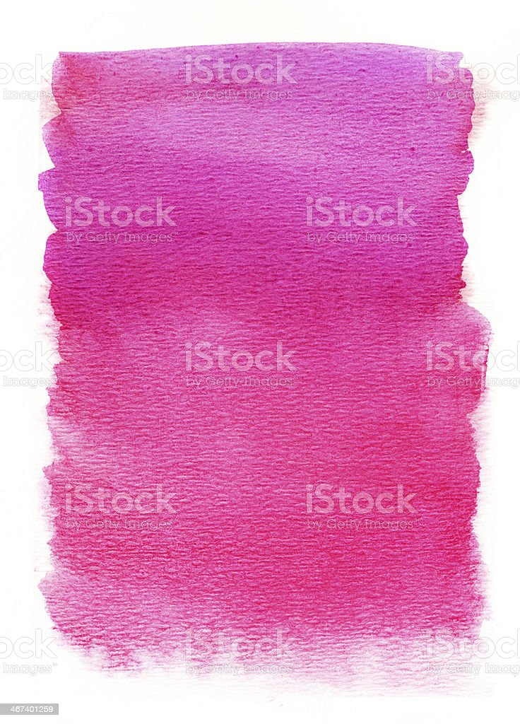 Hot pink watercolor background royalty-free stock photo
