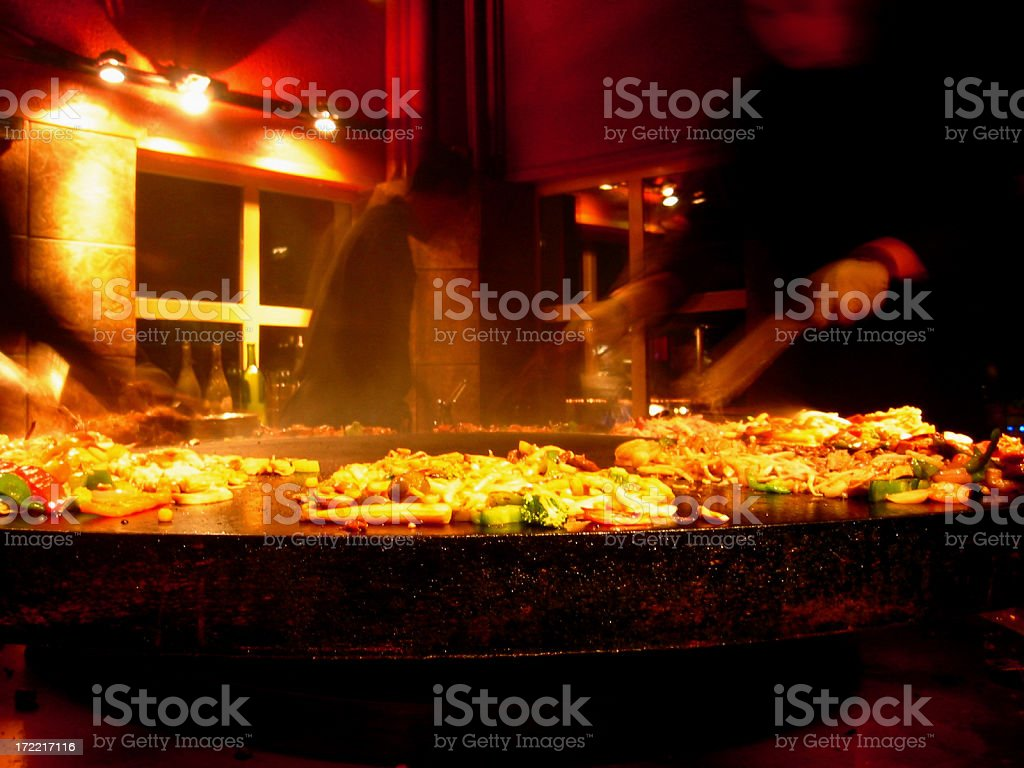 Hot Plate royalty-free stock photo