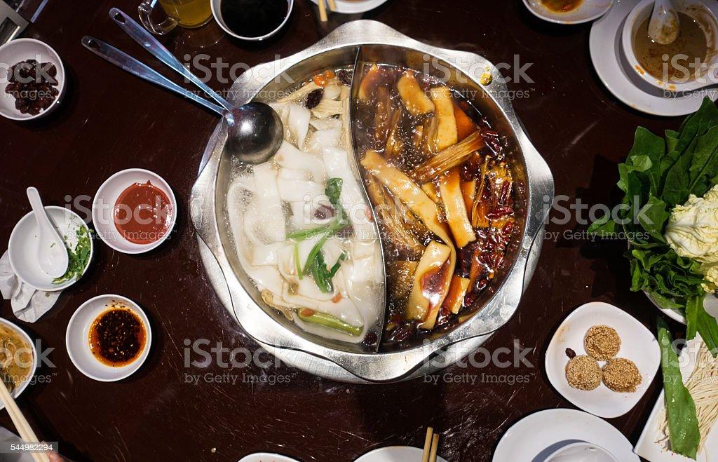Hot Pot stock photo
