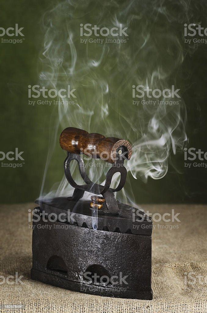 Hot Retro Iron royalty-free stock photo