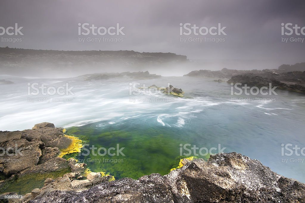 Hot River. stock photo