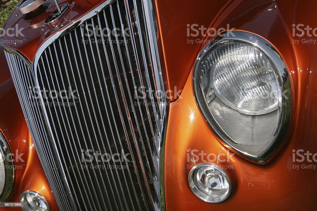 Hot Rod dettaglio foto stock royalty-free