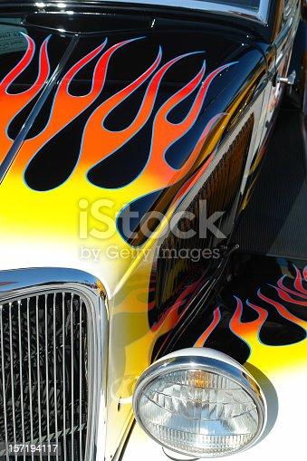 istock Hot Rod Flames 157194117