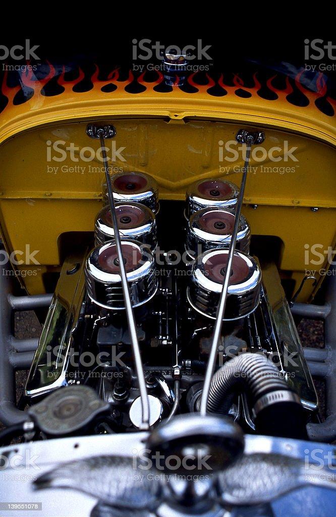 Hot Rod royalty-free stock photo