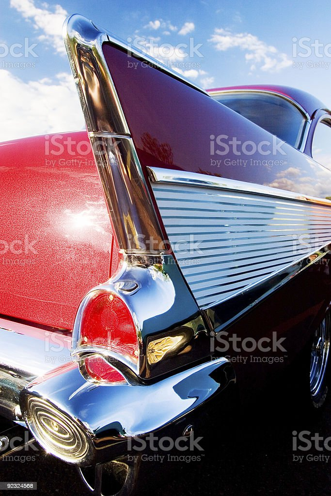 Hot Rod Wings stock photo