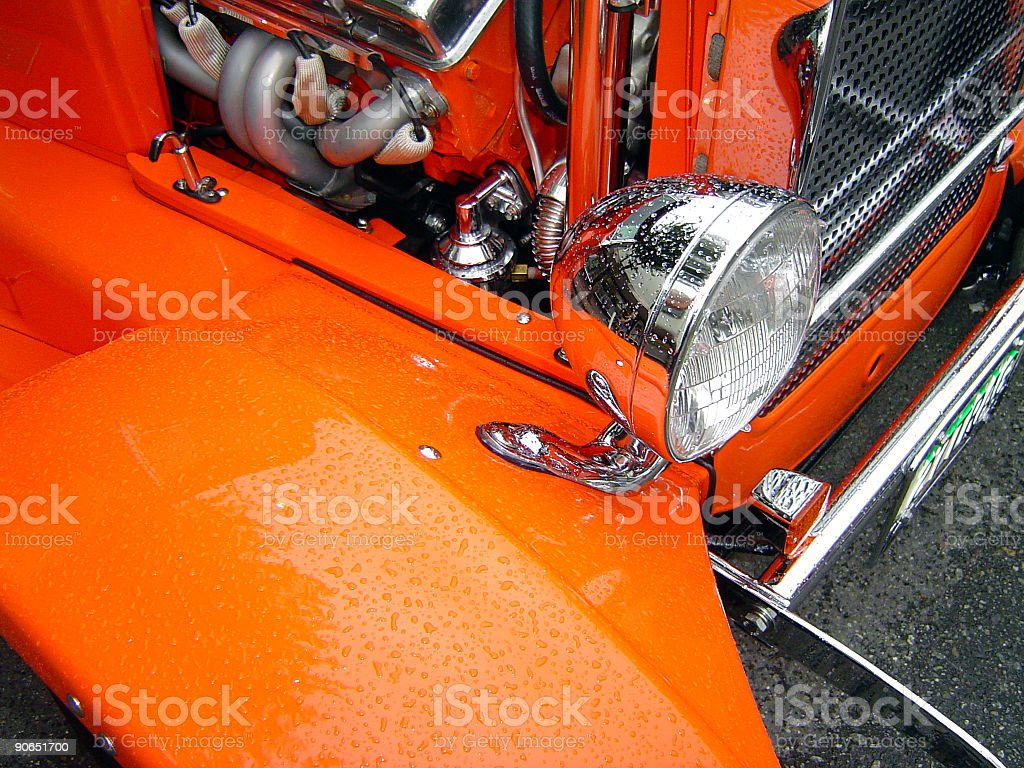 Hot Rods - Metal & Chrome07 royalty-free stock photo