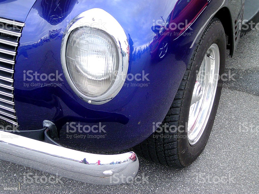 Hot Rods -Metal & Chrome08 royalty-free stock photo