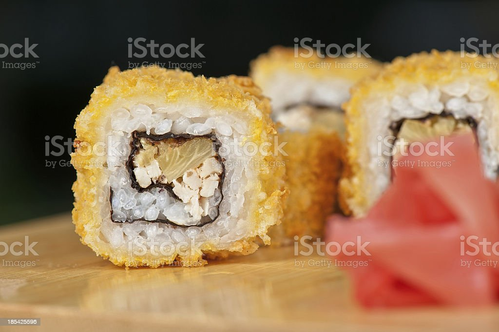 Hot roll royalty-free stock photo