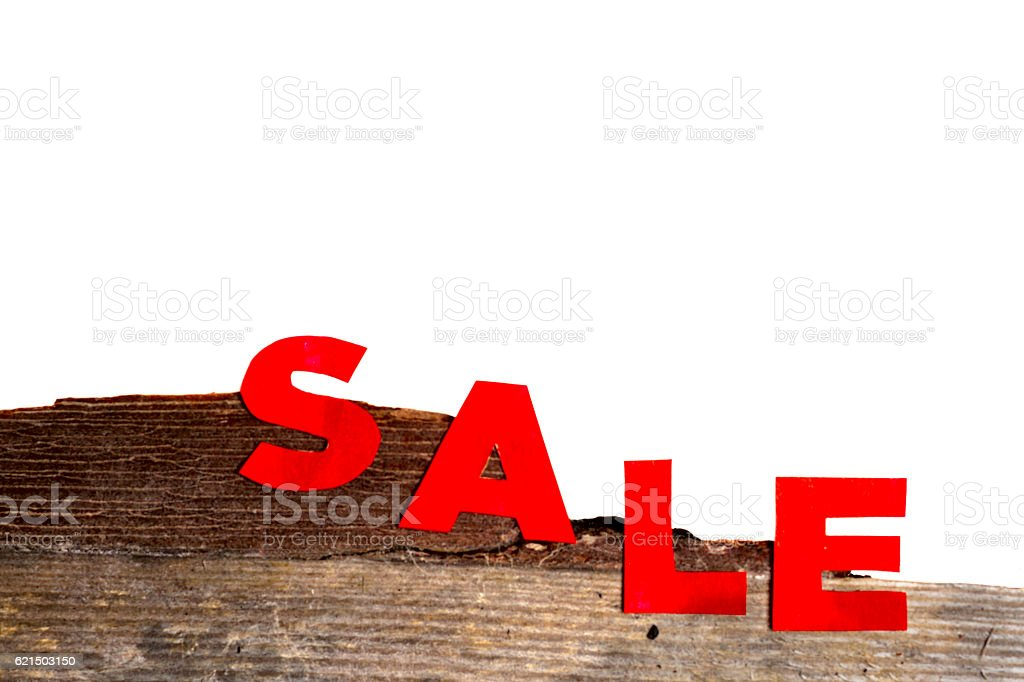 hot Sale and pine branches foto stock royalty-free