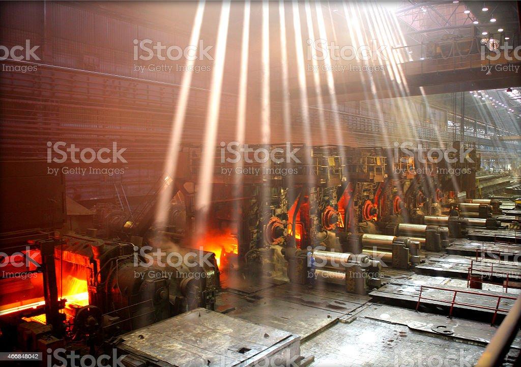 Hot shop stock photo