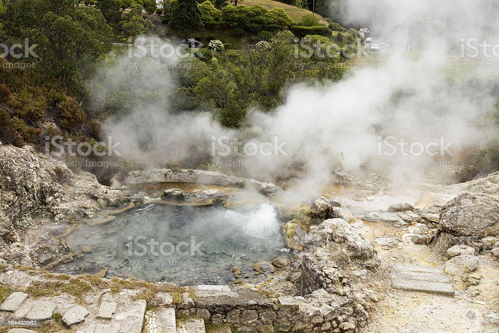 Hot spring in Azoren – Foto