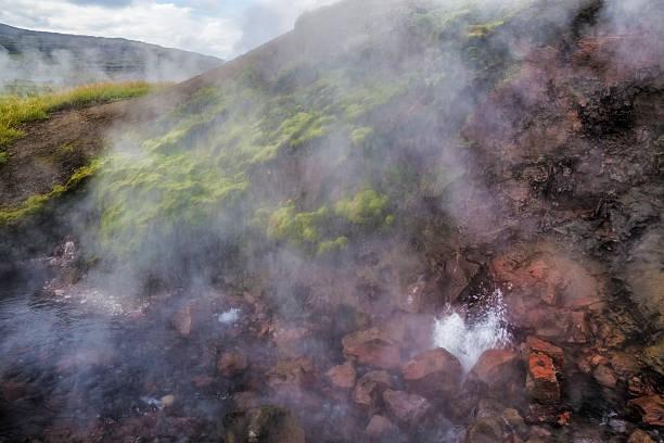 Hot spring in Island – Foto