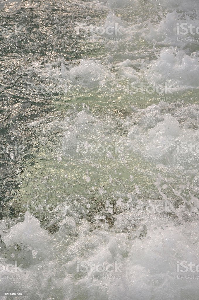 Hot spring water royalty-free stock photo