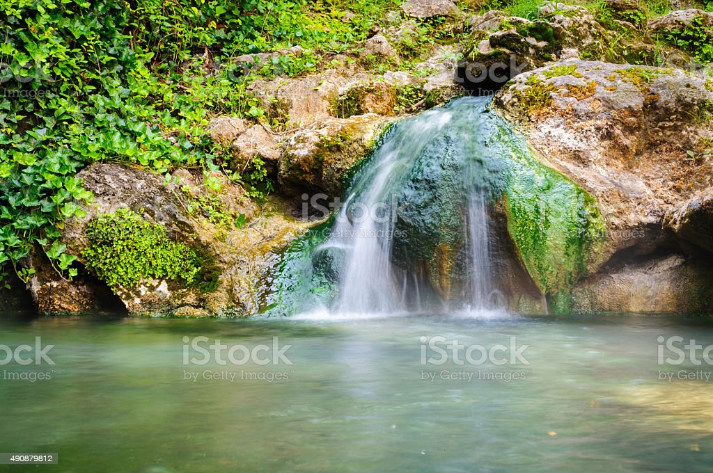 Hot Springs National Park stock photo