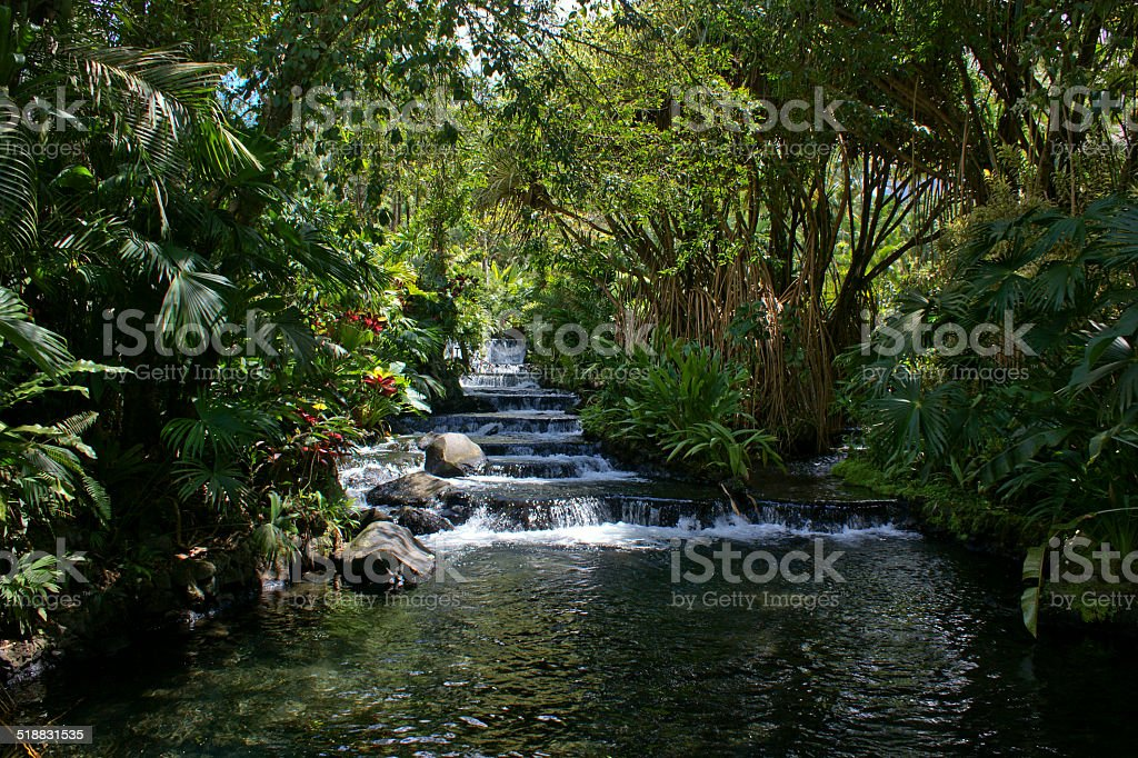 Hot Springs stock photo