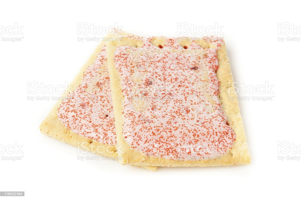 Hot Strawberry Toaster Pastry royalty-free stock photo