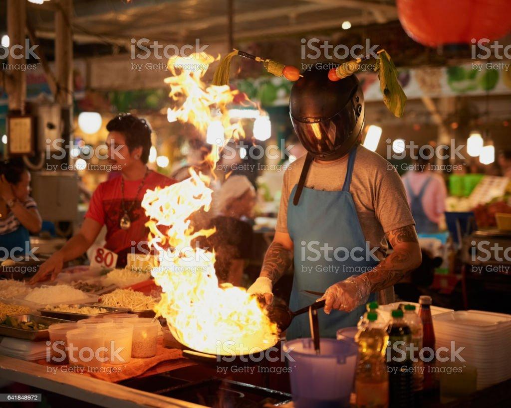 Hot stuff! stock photo