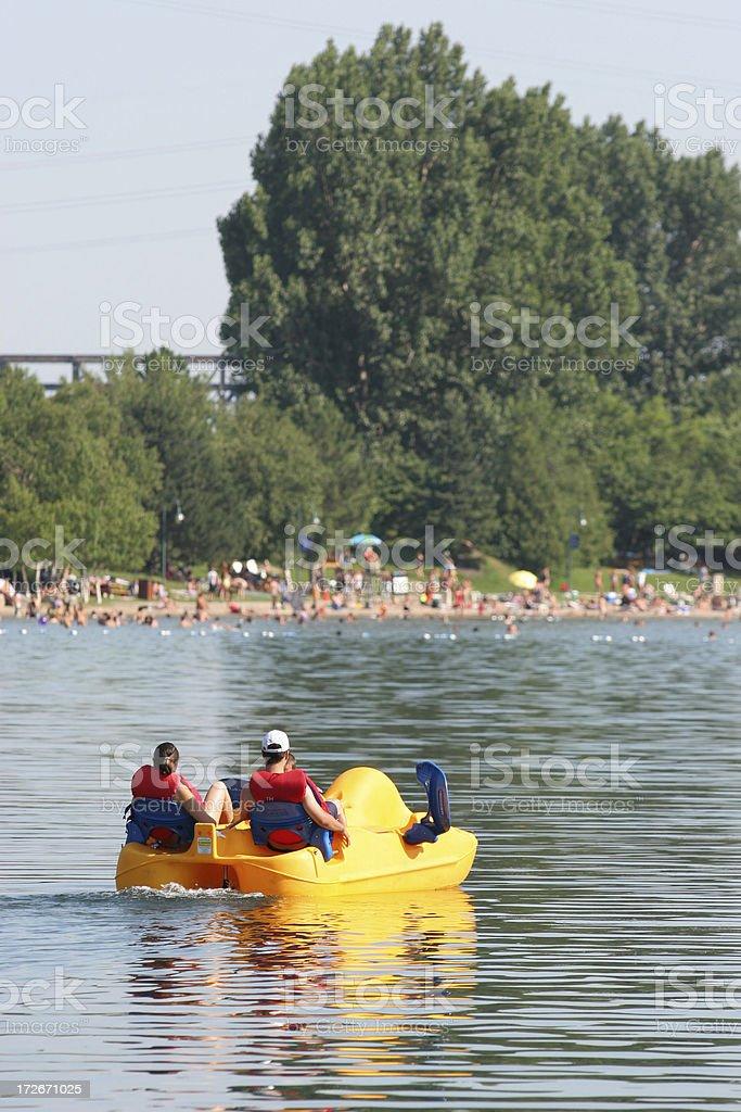 Hot summer day stock photo