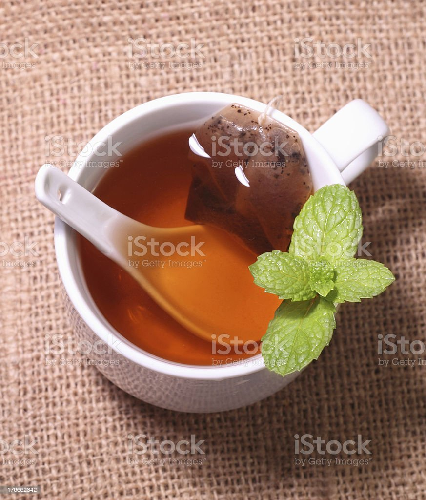 Hot Tea royalty-free stock photo