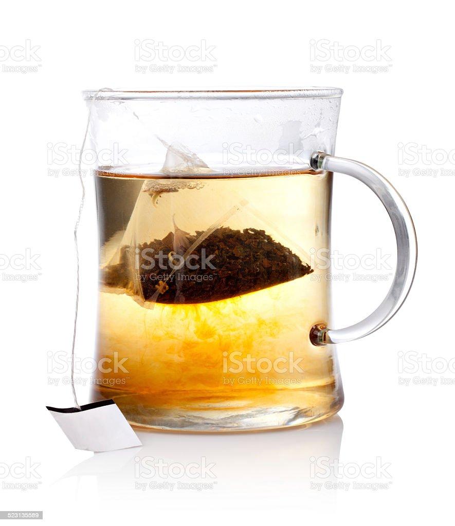 Hot tea stock photo