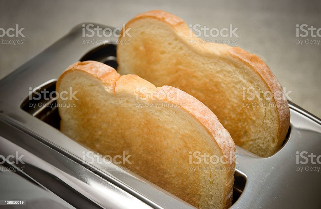Hot Toast stock photo