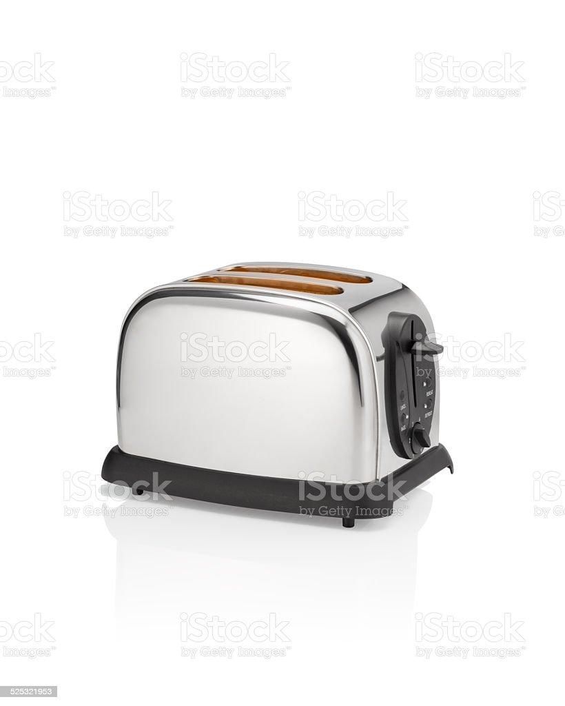 Hot toaster. stock photo