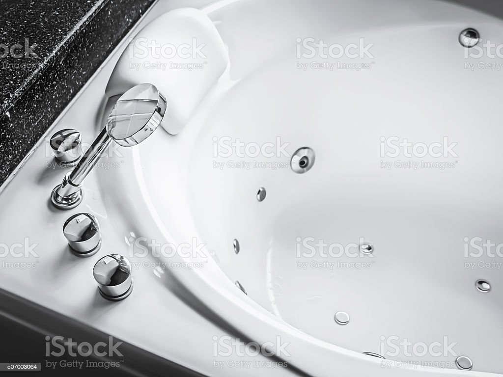 Jacuzzi Bath Tub Stock Photo & More Pictures of Air Valve | iStock