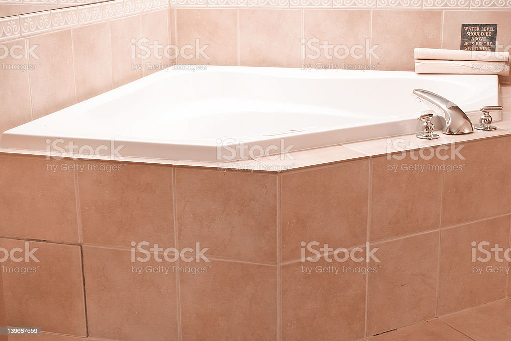 Jacuzzi royalty-free stock photo