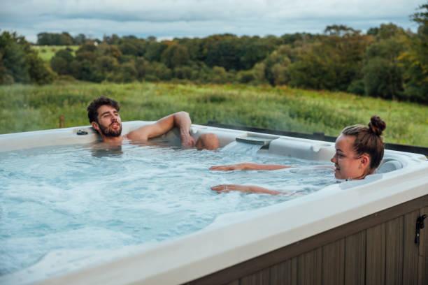 Hot Tub Time stock photo