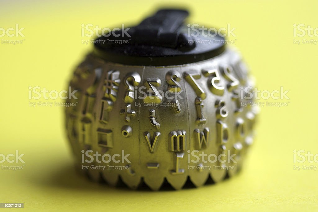Hot Type two royalty-free stock photo