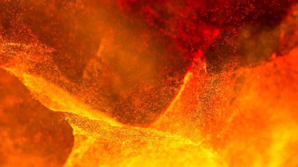 Hot Volcanic Magma, Lava Background Hot Volcanic Magma, Lava Background lava stock pictures, royalty-free photos & images