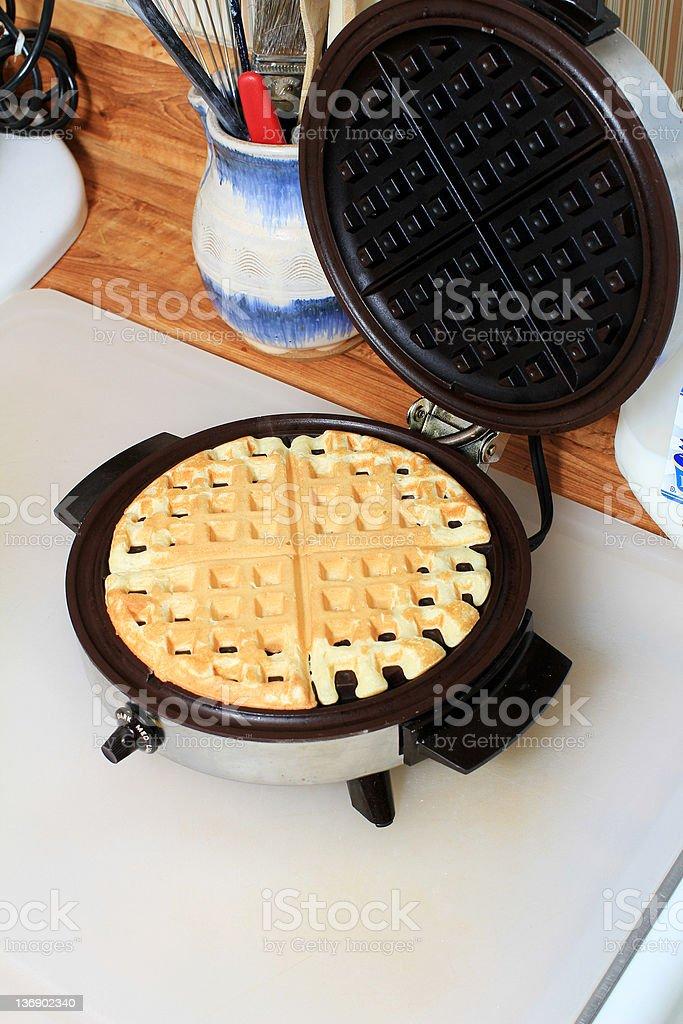 Hot Waffle stock photo