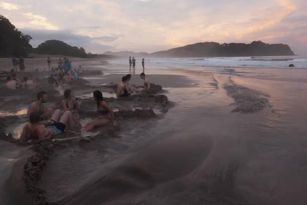 Warmes Wasser Beach – Foto
