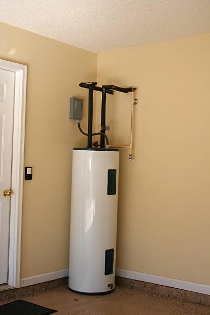 Hot Water Heater stock photo